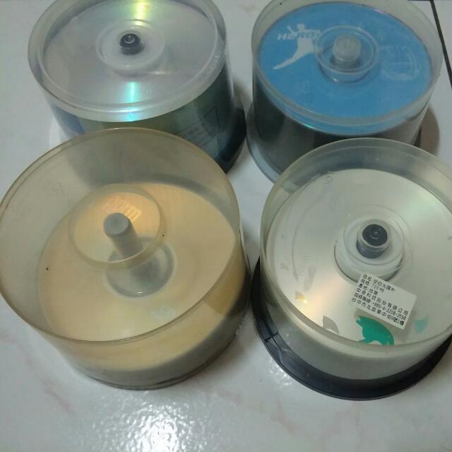 專門燒影片遊戲資料空白光碟