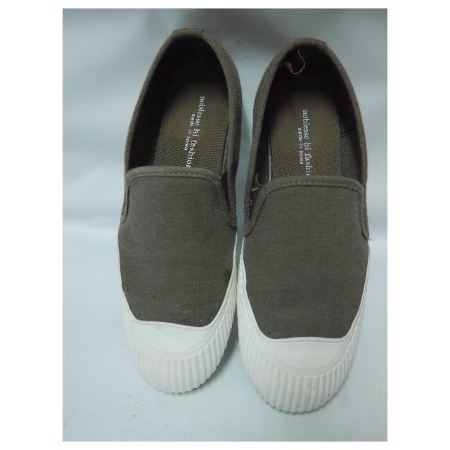 (保留)正韓製軍綠懶人帆布鞋
