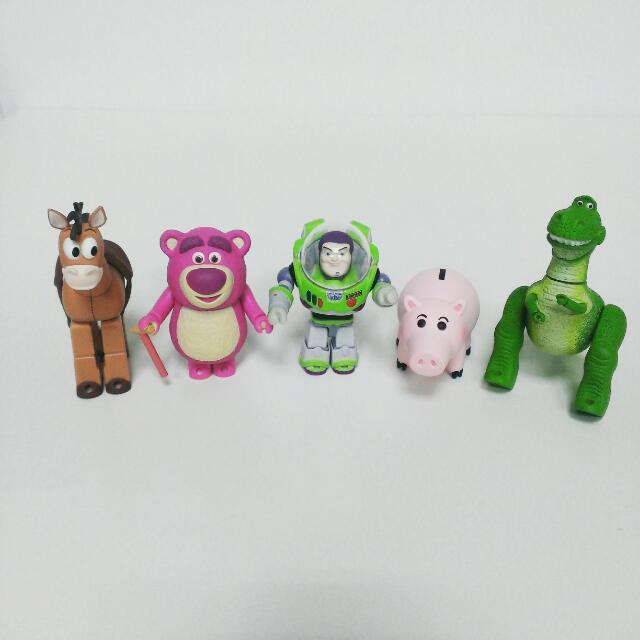 玩具總動員 庫柏力克 一組五隻