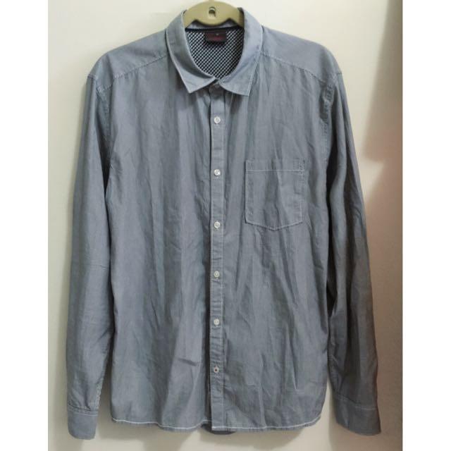 🇺🇸 美國 全新 ESPRIT 男生長袖襯衫上衣 Size: L