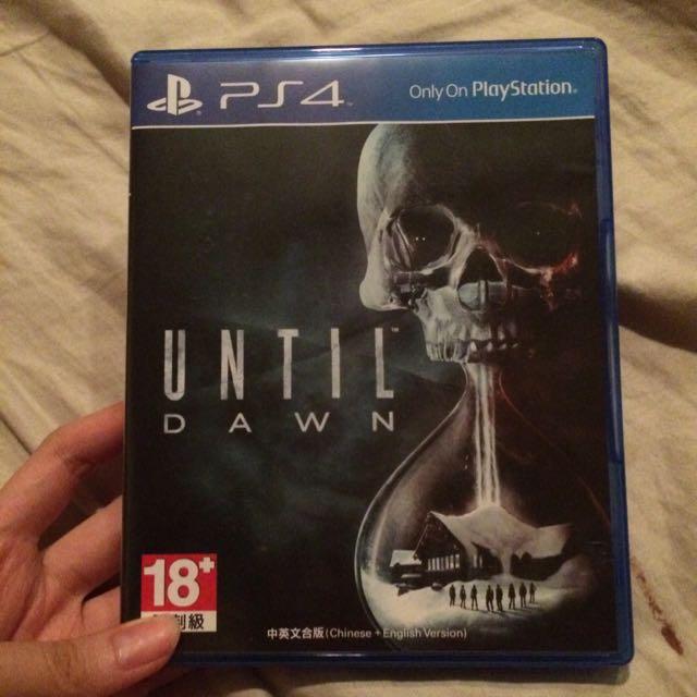直到黎明 PS4 二手