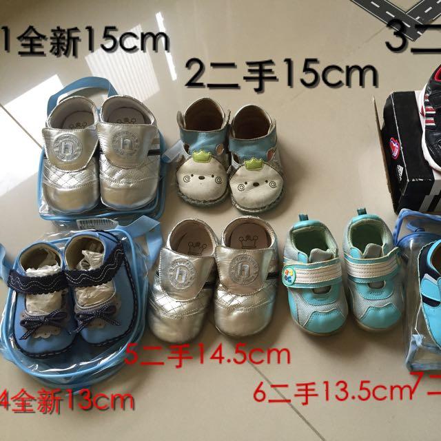 麗嬰房寶寶鞋、adidas寶寶學步鞋