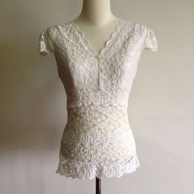 Bysi Lace Top