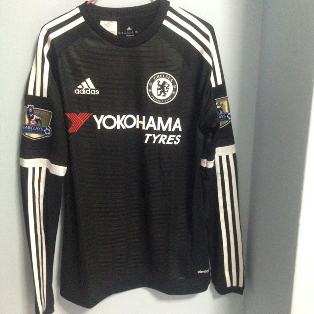 the latest 5c1fe c0b18 Chelsea LS 3rd Kit Jersey 15/16 With Premier League Badge 14 ...