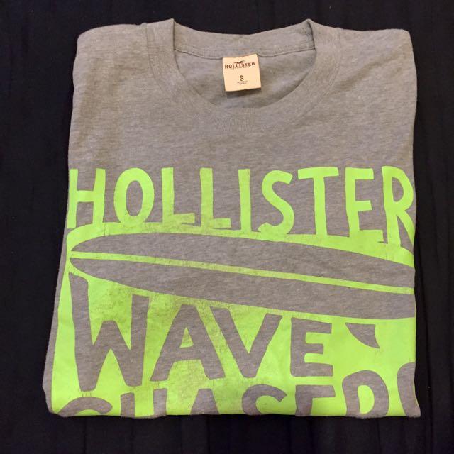 Hollister 短T 灰色