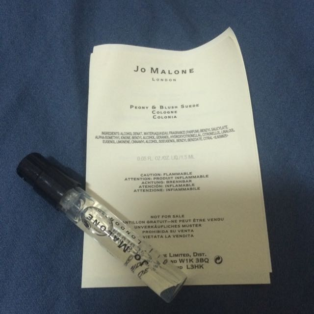 (待匯)JO MALONE試管香水-杏桃花與蜂蜜