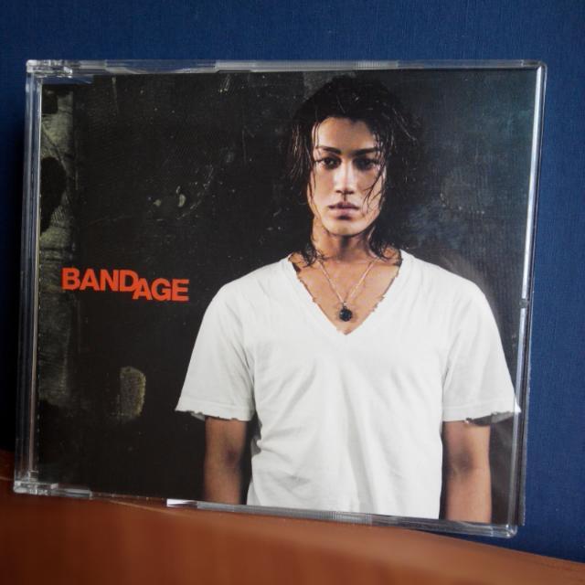 【92二手】KAT-TUN 赤西仁 LANDS 單曲 BANDAGE 期間限定盤 日版 無側標