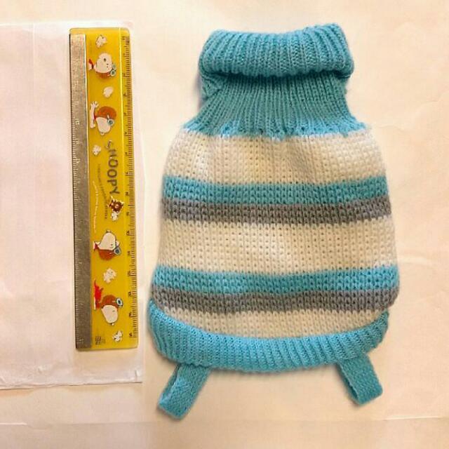 🎉買一送一🐾New Born寵物藍白小毛衣✨