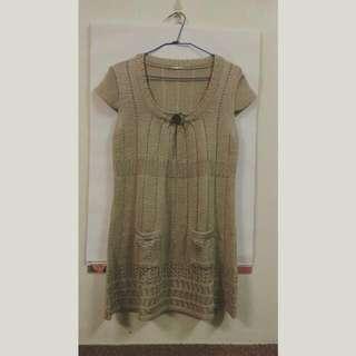 金蔥針織洋裝