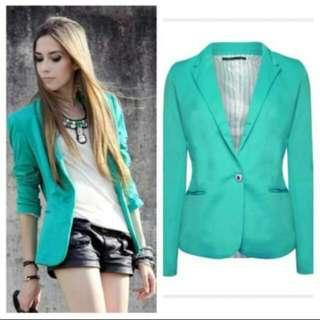 Zara Woman Turquoise blazer / jacket
