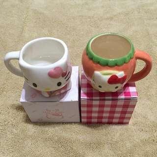 Hello Kitty 咖啡杯(2個)