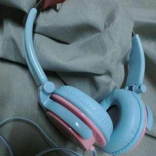 馬卡龍 耳機 超可愛