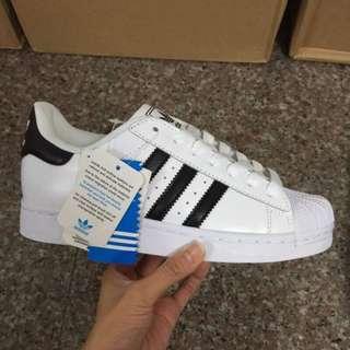 Adidas Superstar II 愛迪達 休閒鞋 貝殼頭 白黑 男女鞋款