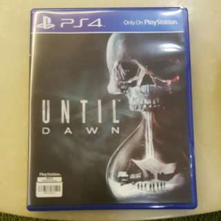 Until Dawn PS4 Game For Sale