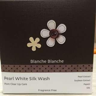 (日本帶回)Blanche Blanche 青木瓜酵素珍珠洗顏粉撲