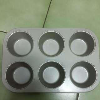 圓形小蛋糕烤模 杯子蛋糕模 烤盤 布丁模