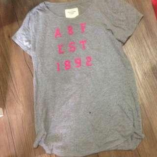 A&f 女生m號正品