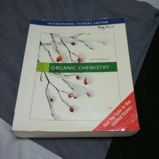 Organic Chemistry Textbook (John McMurry) Seventh Edition
