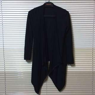 黑色薄罩衫 🎱