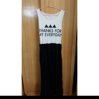 (二手)黑色長裙