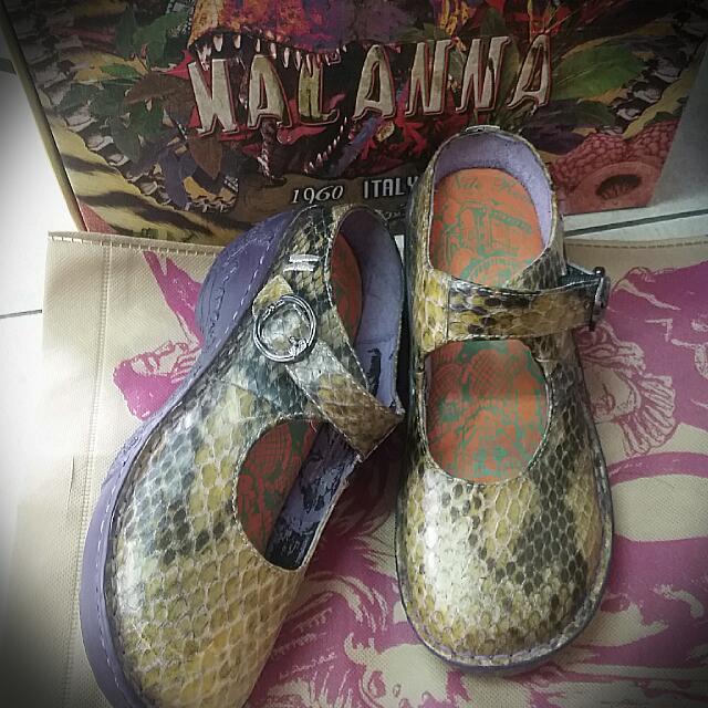 麥坎納 拖鞋式包鞋