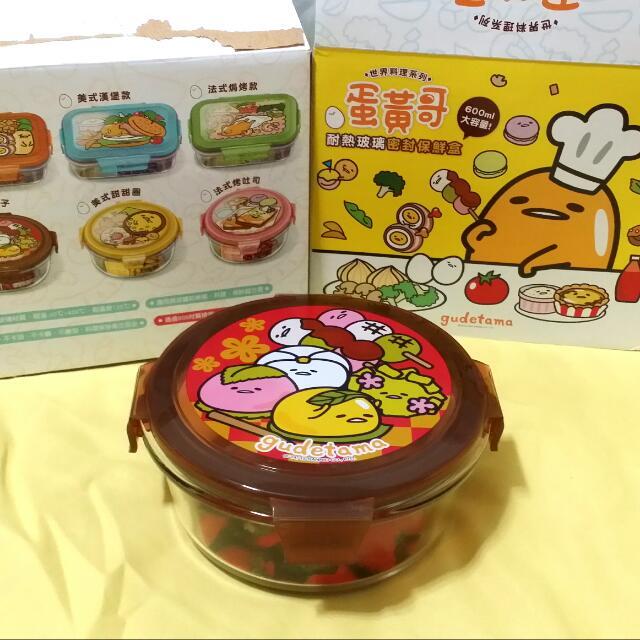 蛋黃哥便當盒- 日式和菓子