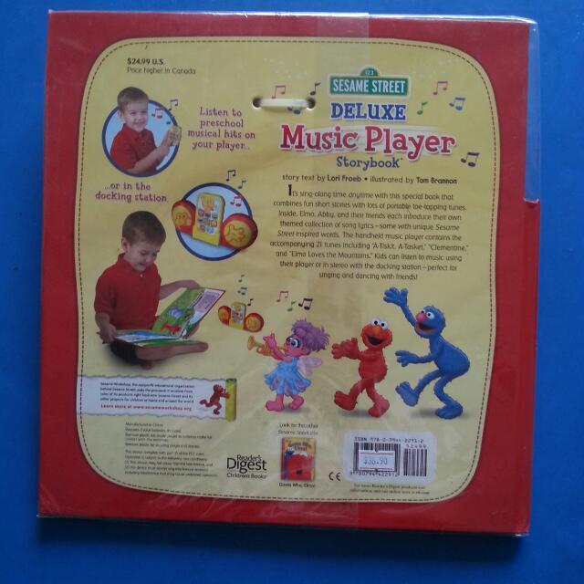 BN Sesame Street Deluxe Music Player Storybook, Babies