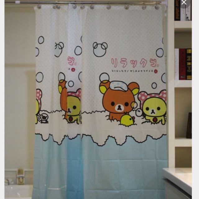RESERVED) Brand New Rilakkuma Shower Curtain b5b68579b