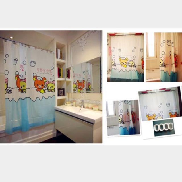 RESERVED Brand New Rilakkuma Shower Curtain Furniture On Carousell