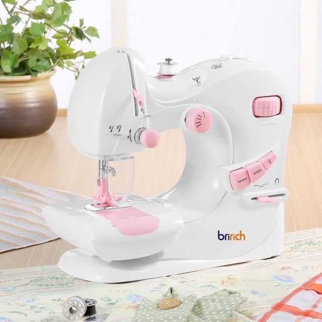 保留【BRI-RICH】御工匠多功能輕巧電動縫紉機(5種功能)