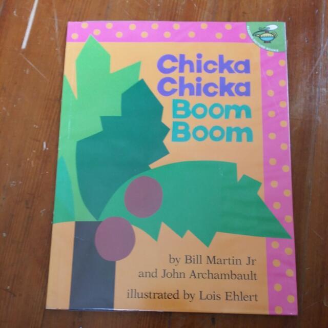 (包書皮)Chicka Chicka Boom Boom 廖彩杏老師推薦用書