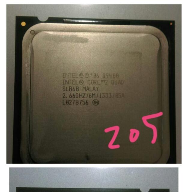 (預定,保留中)INTEL Core 2 Quad Q9400 2.66G CPU/全新品/6M/1333/四核