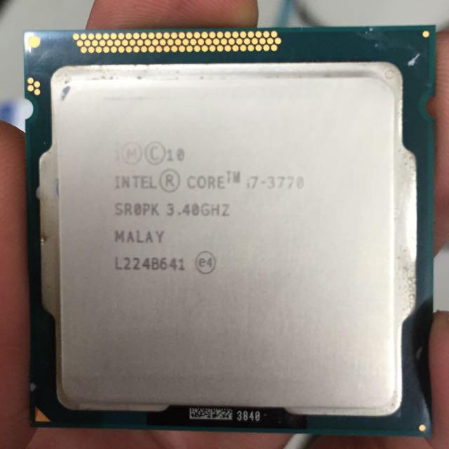 Intel i7 - 3770 Cpu