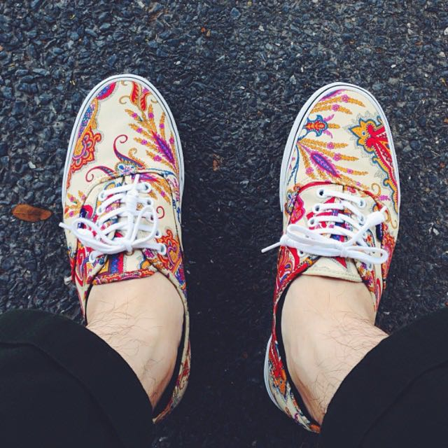 Vans X Liberty London (Paisley / Cream)