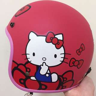 Hello Kitty安全帽