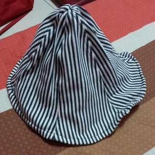 條紋漁夫帽