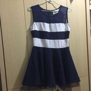 ✅全新洋裝 小禮服 Navy 藍