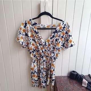 Daisy Jumpsuit Size 10 Wishbone