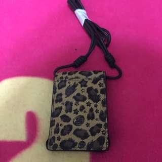羅志祥 Stage 豹紋 卡套證件帶 全新真品