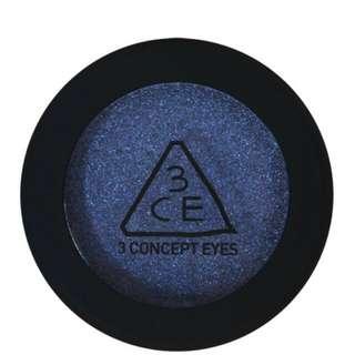 3CE 眼影 mercury 藍 STYLENANDA