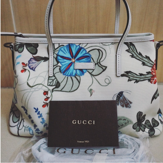 Gucci Limited Edition Brand New Gucci Floral Kris Knight Tote Bag