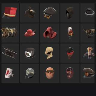 Selling / Trading all the items shown on this page.