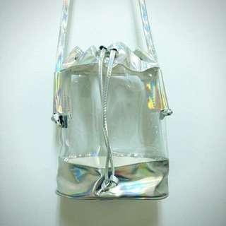 👉🏻鐳射透明水餃包
