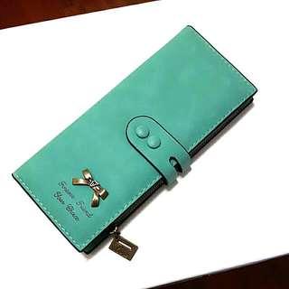 Tiffany綠 長夾