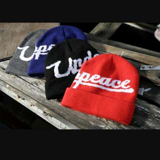 Underpeace毛帽-藍色.含運