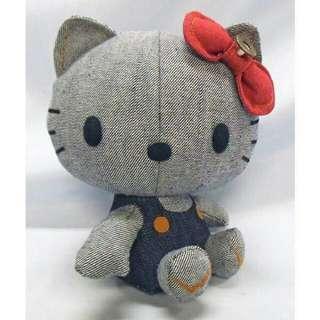 愛得恩&kitty聯名 紀念版玩偶