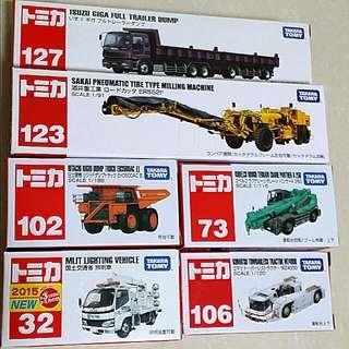 T O M Y 工程車系列
