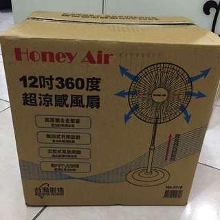 Honey Air 12吋 360度 超涼感風扇