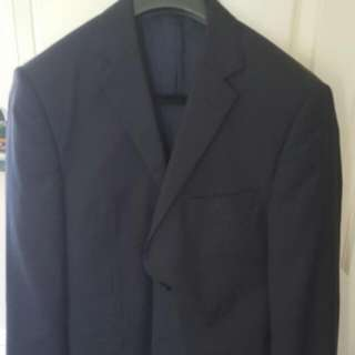 Rhodes And Beckett Suit Jacket- Navy