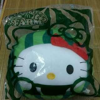 全新未拆限量(kitty)西瓜抱枕
